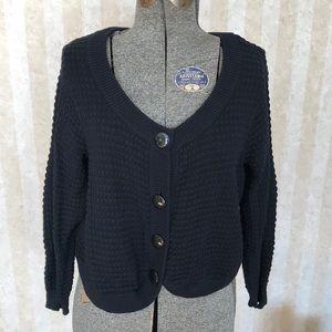 Avenue Cropped Cardigan Sweater